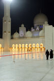 Sheikh Zayed Grand-Moschee Stockfotografie