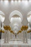 Sheikh Zayed Grand-Moschee in Abu Dhabi, Vereinigter Arabisch-Emirat Stockfoto