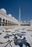 Sheikh Zayed Grand Mosque. Abu Dhabi Royalty Free Stock Photos