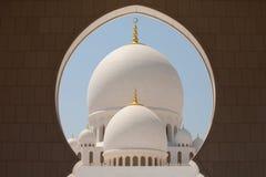 Sheikh Zayed Grand Mosque. Abu Dhabi Royalty Free Stock Photo