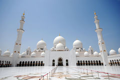Sheikh Zayed Grand Mosque Royalty Free Stock Photography