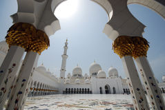 Sheikh Zayed Grand Mosque Stock Images