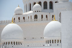 Sheikh Zayed Grand Mosque Stock Photography