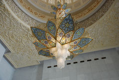 Sheikh Zayed Grand Mosque Stock Photo