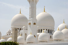 Sheikh Zayed Grand Mosque Stock Photos
