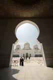 Sheikh Zayed Grand Mosque Lizenzfreie Stockfotografie