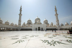 Sheikh Zayed Grand Mosque Lizenzfreie Stockbilder