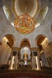 Sheikh Zayed Grand Mosque Lizenzfreies Stockfoto