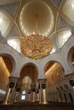 Sheikh Zayed Grand Mosque Stockbild