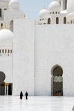 Sheikh Zayed Grand Mosque Stockbild
