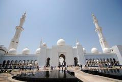 Sheikh Zayed Grand Mosque Lizenzfreies Stockbild