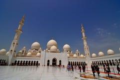 Sheikh Zayed Grand Mosque Fotografie Stock