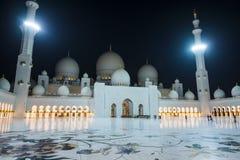 Sheikh Zayed Grand Mosque foto de archivo libre de regalías