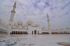 Sheikh Zayed Grand Mosque Fotografia Stock Libera da Diritti