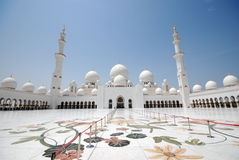 Sheikh Zayed Grand Mosque Images libres de droits