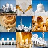 Sheikh Zayed Grand Mosque Stockbilder