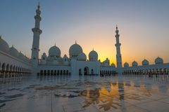 Sheikh Zayed Grand Mosque Immagini Stock