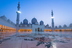 Sheikh Zayed Grand Mosque Fotografia Stock