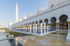 Sheikh Zayed Grand Mosque Stockfoto