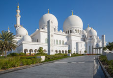 Sheikh Zayed Grand Mosque Stockbilder