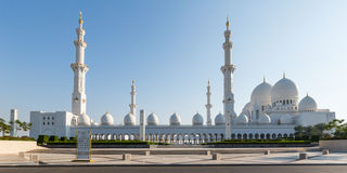 Sheikh Zayed Grand Mosque Lizenzfreie Stockfotos