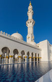 Sheikh Zayed Grand Mosque Stockfotos