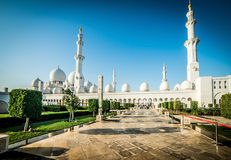 Sheikh Zayed Grand Mosque Stock Image