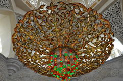Sheikh Zayed Grand Mosque Lizenzfreie Stockbilder