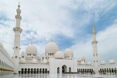 Sheikh Zayed Grand Mosque Immagine Stock
