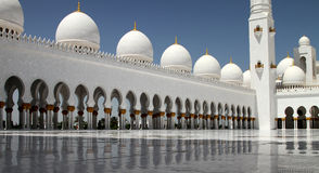 Sheikh Zayed Grand Mosque 2 Royaltyfri Bild