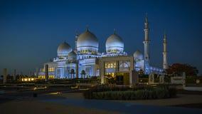 Sheikh Zayed Grand Mosque in Abu Dhabi 6 Lizenzfreies Stockbild
