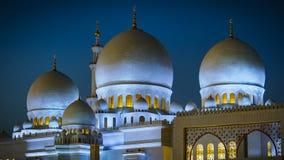 Sheikh Zayed Grand Mosque in Abu Dhabi 17 Lizenzfreies Stockbild