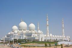 Sheikh Zayed Grand Mosque in Abu Dhabi Stockbild