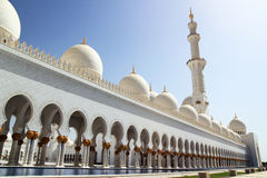 Sheikh Zayed Grand Mosque Abu Dhabi Photo libre de droits