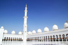 Sheikh Zayed Grand Mosque Abu Dhabi Images libres de droits