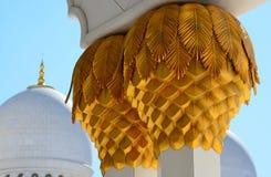 Sheikh Zayed Grand Mosque Abu Dhabi lizenzfreies stockbild
