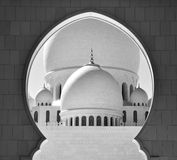 Sheikh Zayed Grand Mosque Abu Dhabi Royalty Free Stock Image
