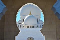 Sheikh Zayed Grand Mosque Abu Dhabi Royalty Free Stock Image