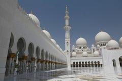 Sheikh Zayed grand mosque abu dhabi Royalty Free Stock Photography