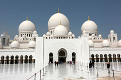 Sheikh Zayed Grand Mosque, Abu Dhabi Stock Images