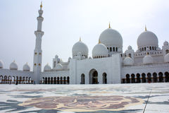 Sheikh Zayed Grand Mosque in Abu Dhabi stock image