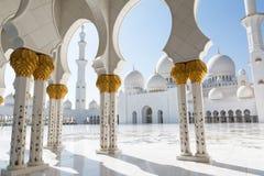 Sheikh Zayed Grand Mosque in Abu Dhabi, die Hauptstadt von Vereinigte Arabische Emirate Stockfoto