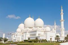 Sheikh Zayed Grand Mosque, Abu Dhabi, Emirati Arabi Uniti Fotografia Stock Libera da Diritti