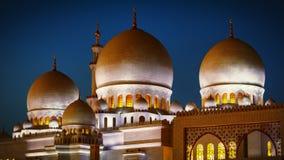 Sheikh Zayed Grand Mosque in Abu Dhabi 18 Stock Photo