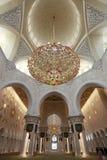 Sheikh Zayed grand mosque abu dhabi Stock Photo