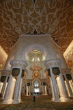 Sheikh Zayed grand mosque abu dhabi Royalty Free Stock Images