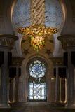 Sheikh Zayed Grand Mosque Abu Dhabi. Interior of the Sheikh Zayed Grand Mosque Abu Dhabi UAE Royalty Free Stock Photos