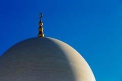 Sheikh Zayed Grand Mosque, Abu Dhabi ist in den UAE das größte Stockfotos
