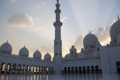 Sheikh Zayed Grand Mosque, Abu Dhabi Stock Image