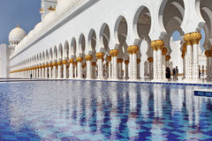 Sheikh Zayed Grand Mosque Abu Dhabi Royalty Free Stock Photo